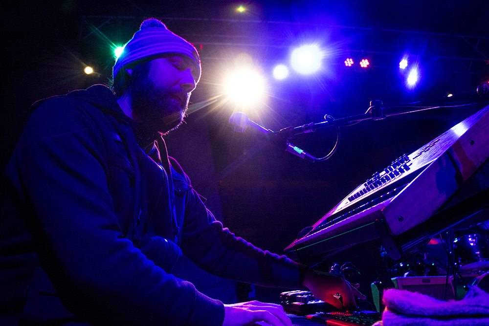 Strange Americans play Levitt Pavilion's last free show of their inaugural season, Sept. 24, 2017. (Kevin J. Beaty/Denverite)  music; ruby hill; levitt pavilion; amphitheatre; denver; denverite; colorado; kevinjbeaty;