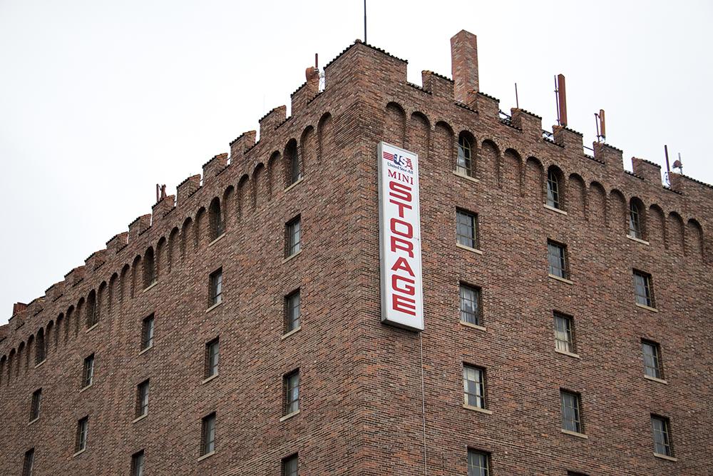 United Stor-All Central Denver Self Storage on East Colfax Avenue. (Kevin J. Beaty/Denverite)  denver; colorado; denverite; kevinjbeaty; self storage; storage unit;