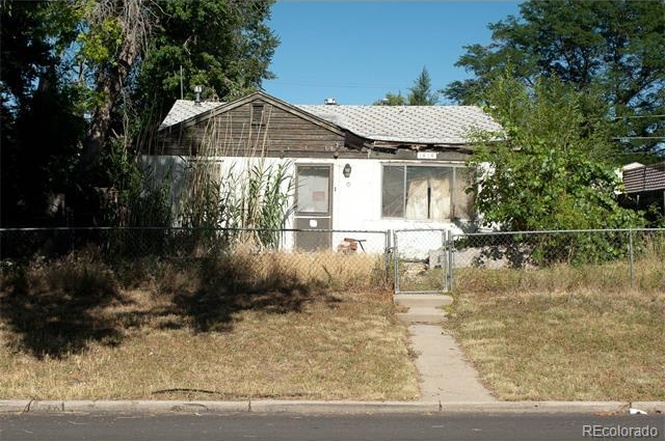 The exterior of 1616 Uinta Street. (Courtesy of Redfin)