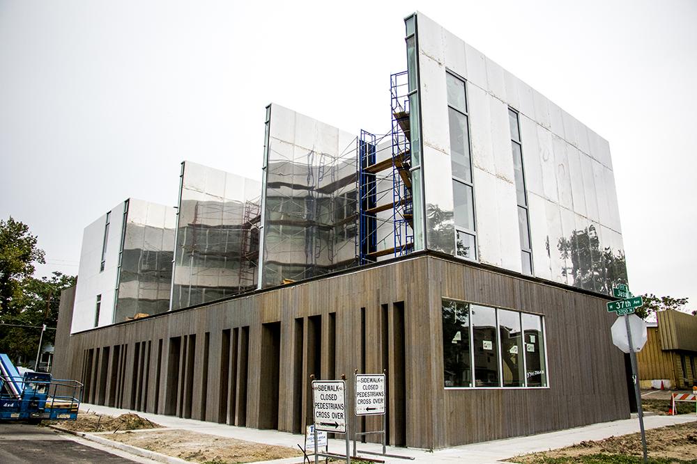 New construction on Jason Street in Highland, Sept. 11, 2017. (Kevin J. Beaty/Denverite)  kevinjbeaty; denver; denverite; colorado; highland; construction; development; residential real estate;