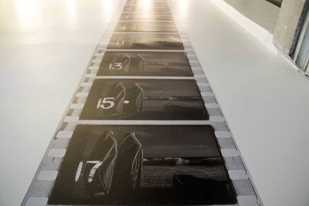 An exhibit on the work of cinematographer Gabriel Figueroa at the McNichols Building, part of the Biennial of the Americas. Sept. 12, 2017. (Kevin J. Beaty/Denverite)  mcnichols building; art; biennial of the americas; denver; colorado; denverite; kevinjbeaty;