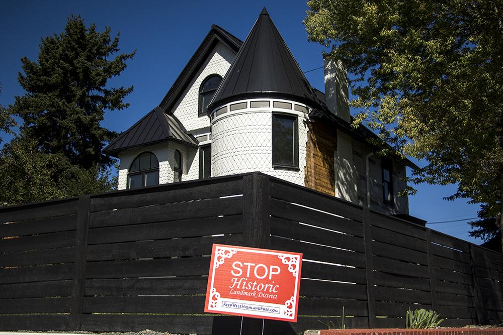 3823 W. 32nd Ave. Sept. 20, 2017. (Kevin J. Beaty/Denverite)  colorado; denver; denverite; kevinjbeaty; west highland; residential real estate; historic district;