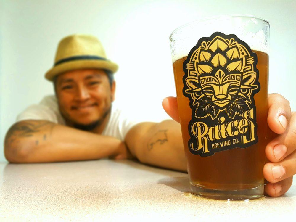 Jose Beteta, ower of Raices Brewing Co. (Courtesy of Raices Brewing Co.)