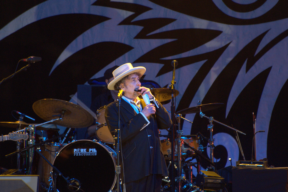 Bob Dylan, pictured here in 2011, is playing at the FirstBank Center on Oct. 21. (Francisco Anutnes/Flickr Creative Commons)