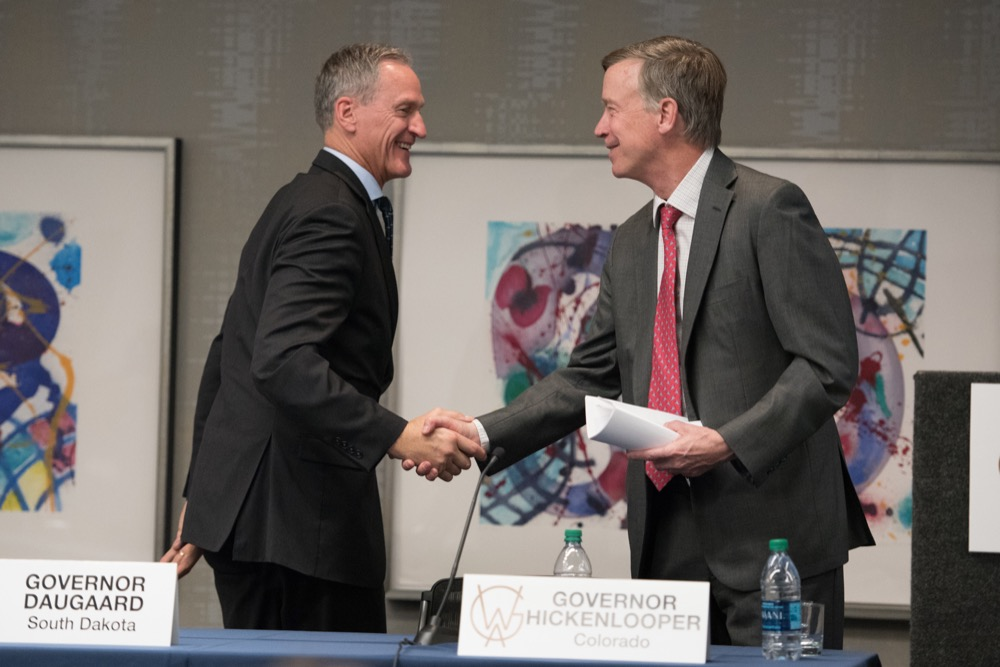 Western Governors' Workforce Development Initiative Colorado Workshop at the Art Hotel in Denver, Colorado,   Sept 18, 2017.  (Ellen Jaskol/Western Governors'  Association)
