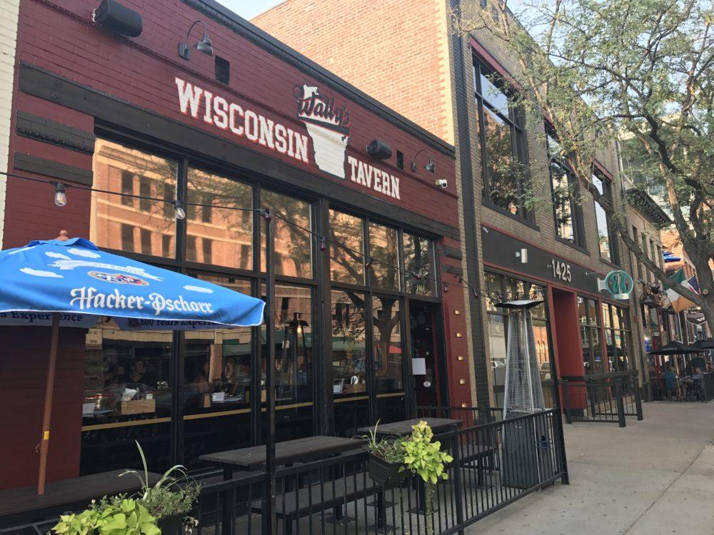 Wally's Wisconsin Tavern. (Ashley Dean/Denverite)