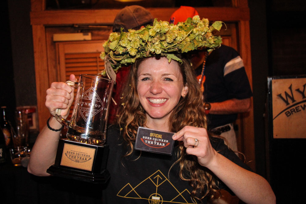 Shawna Cormier, 2016 Beer Drinker of the Year. (Photo: Stephanie Grado)