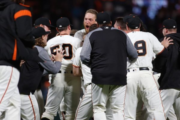 The Giants beat the Rockies in a walk-off Tuesday. (Stan Szeto/USA Today Sports)