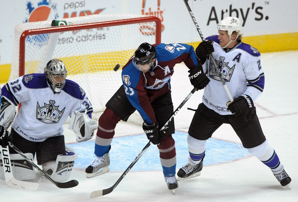 The Avalanche will retire Milan Hedjuk's No. 23 jersey this season. (Kirby Lee/USA Today Sports)