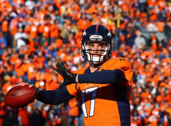 Brock Osweiler will soon be a Bronco again. (Mark Rebilas/USA Today Sports)