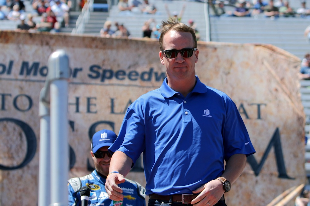 Peyton Manning shot down speculation that he's running for Senate. (Randy Sartin/USA Today Sports)