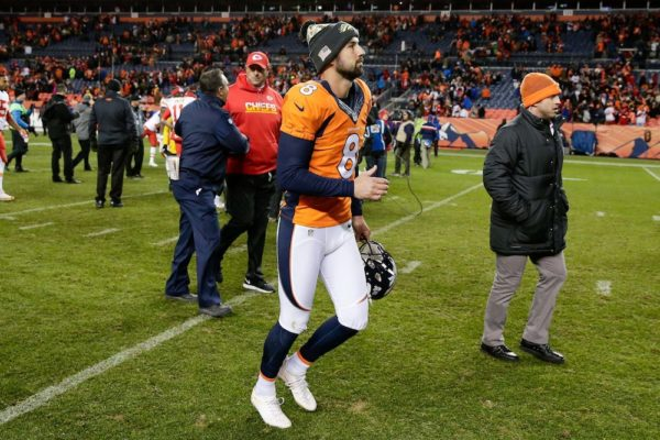 Brandon McManus signed a contract extension through 2020 on Monday. (Isaiah J. Downing/USA Today Sports)