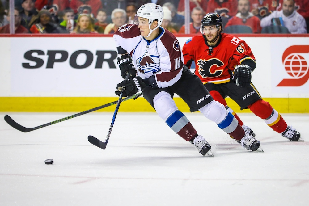 Nikita Zadorov signed a two-year deal with the Avalanche on Friday. (Sergei Belski/USA Today Sports)