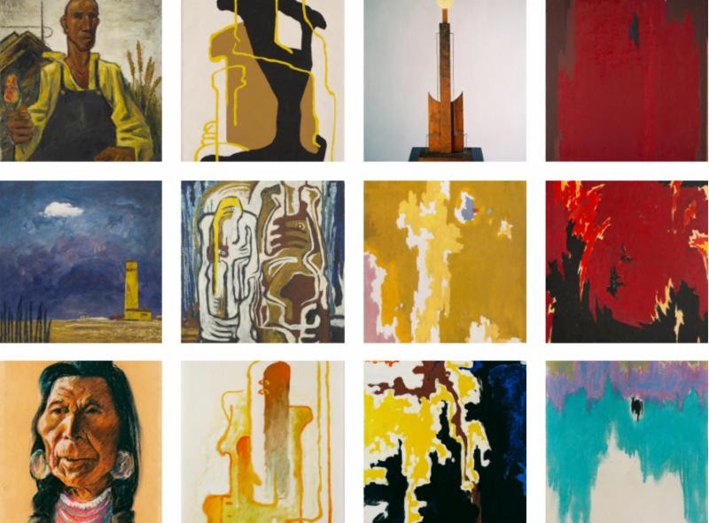 Selections from the Clyfford Still Museum Online Collection. All works © City and County of Denver / ARS, NY.