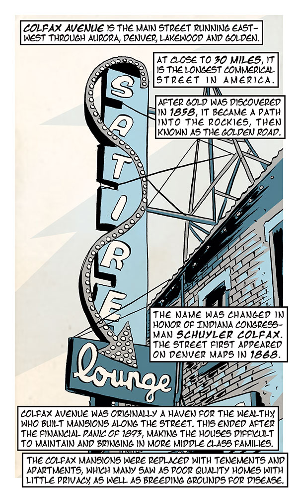 Colfax Comic Panel 1 (Karl Christian Krumpholz)