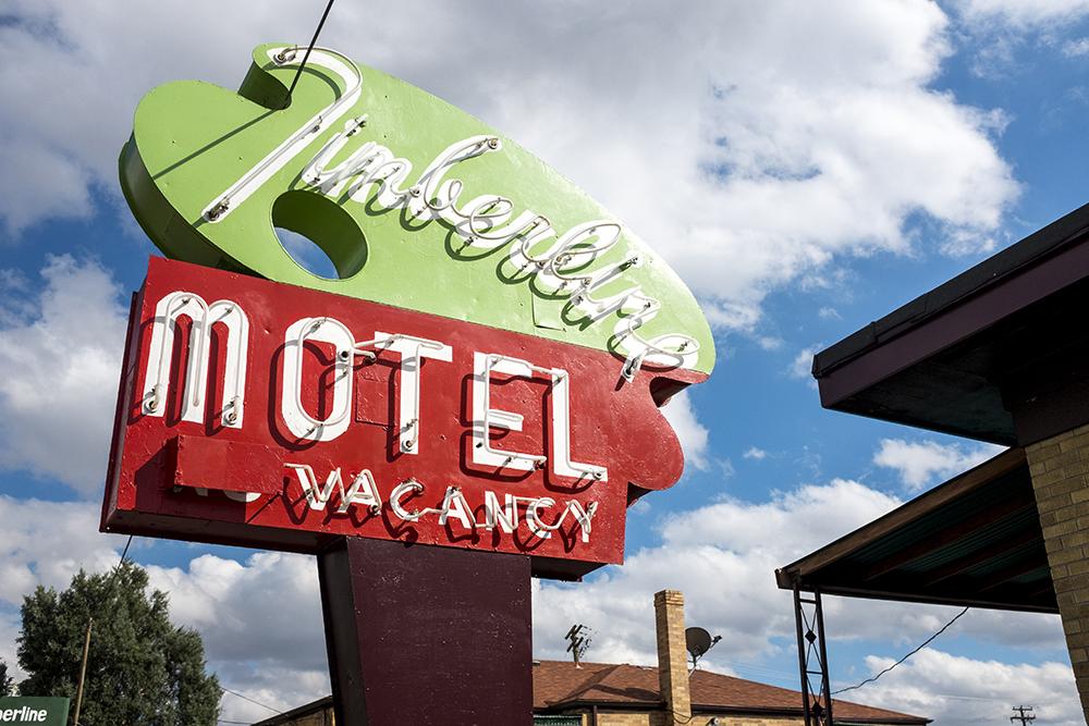 The Timberline Motel on East Colfax Avenue in Aurora. (Kevin J. Beaty/Denverite)  denver; colorado; denverite; kevinjbeaty; colfax; motel; aurora;
