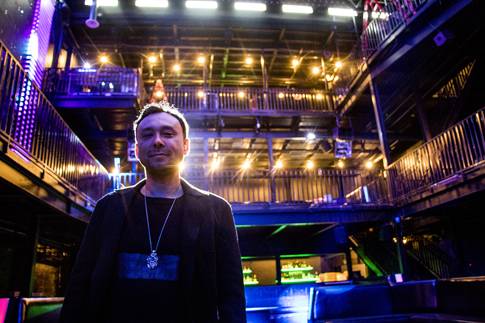 Paul Hemming, founder of Temple Nightclub Denver, inside his new space before its soft opening, Oct. 26, 2017. (Kevin J. Beaty/Denverite)  denver; colorado; denverite; kevinjbeaty; club; nightlife; capitol hill;
