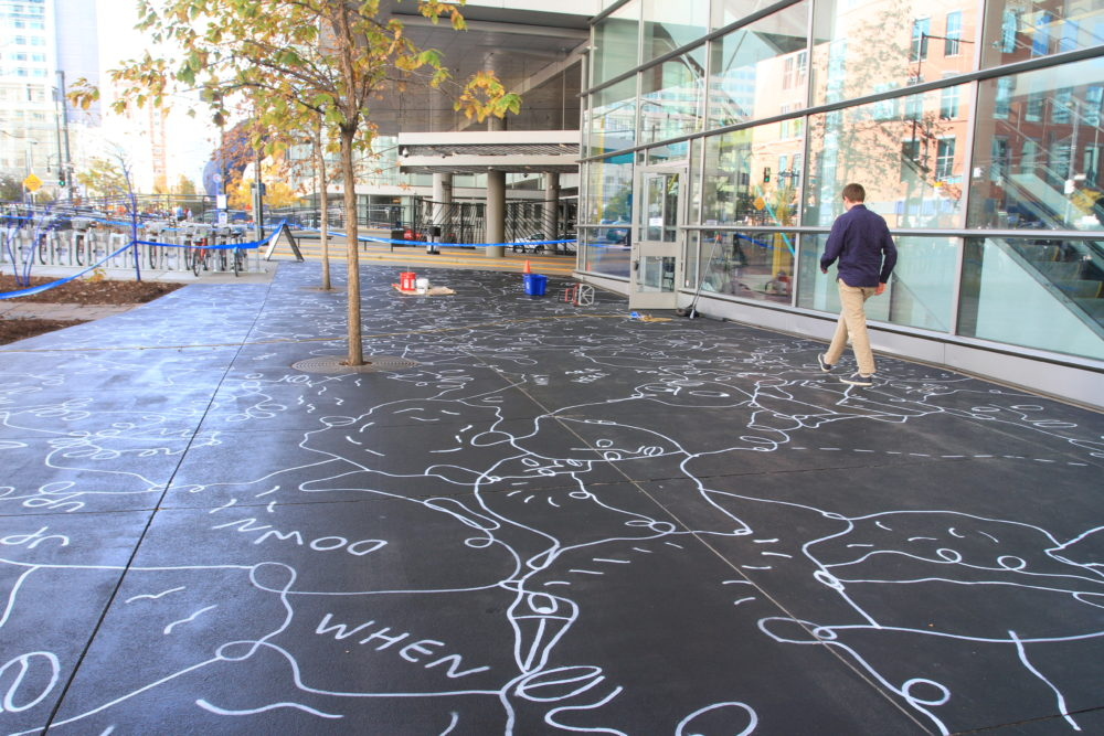 Shantell Martin; Denver Theatre District