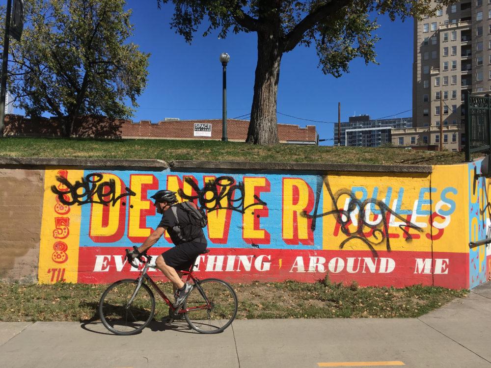 A mural at 12th and Delaware. (Dave Burdick/Denverite)