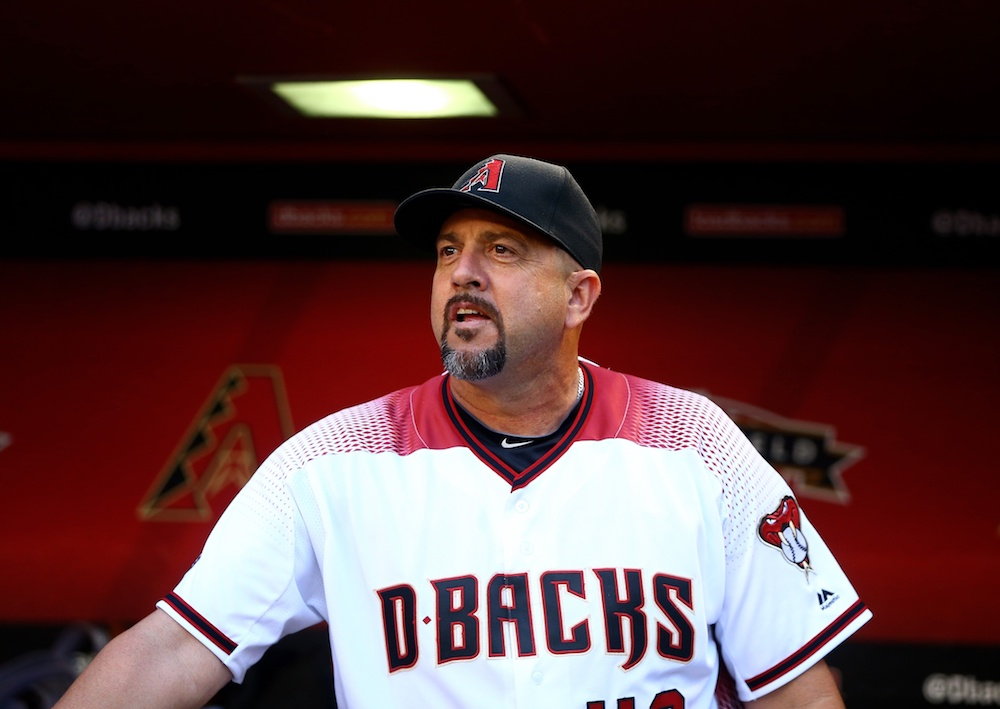 Diamondbacks coach Ariel Prieto. (Mark J. Rebilas/USA Today Sports)