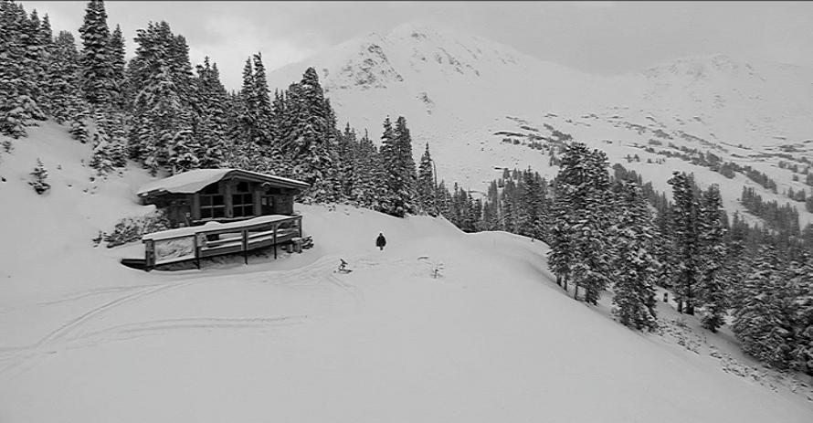 Loveland Ski Area late on the morning of Monday, Oct. 2, 2017. (Courtesy Loveland Ski Area)