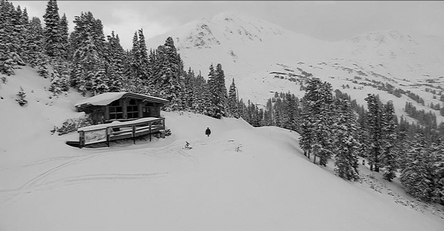 Loveland Ski Area late on the morning of Monday, Oct. 2, 2017. (Courtesy Loveland Ski Area)