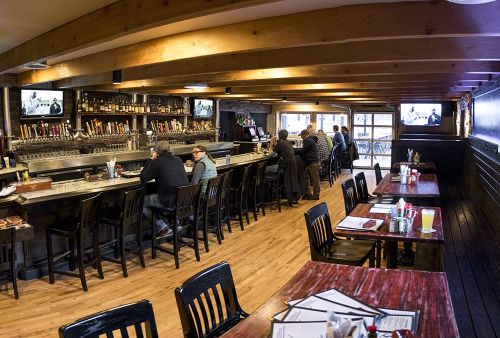 Rino Beer Garden on Walnut Street, Nov. 6, 2017. (Kevin J. Beaty/Denverite)  food; restaurant; kevinjbeaty; denver; denverite; colorado; nightlife; bar; five points; rino;
