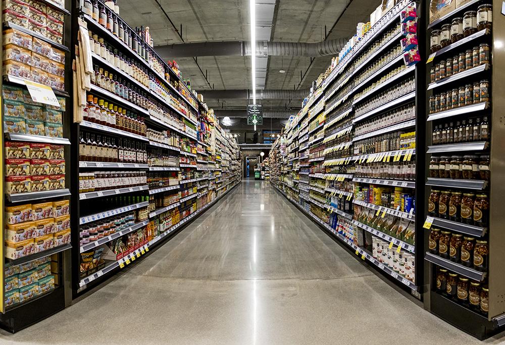 Whole Foods Market near Union Station is nearly ready to open, Nov. 13, 2017. (Kevin J. Beaty/Denverite)  whole foods; grocery store; union station; denver; denverite; kevinjbeaty; colorado;
