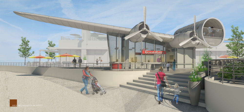 Artist's rendering of The Constellation Ice Cream, coming to Eastbridge in Stapleton. (Courtesy of B PR)