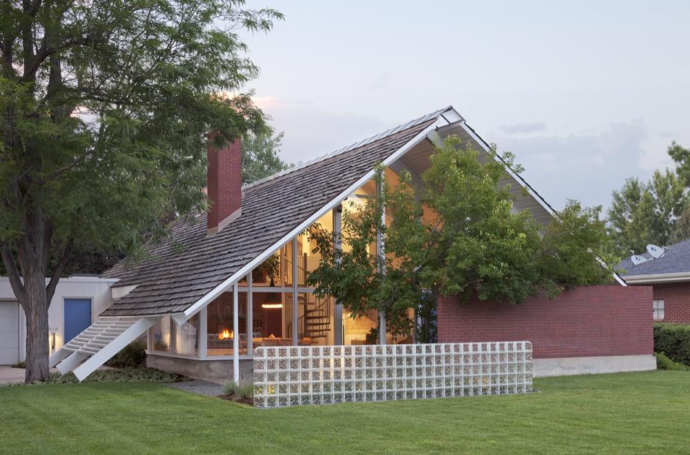 Mid-Century House Restoration, 618 S. Monroe Way. (Courtesy of Denver Community Planning and Development)