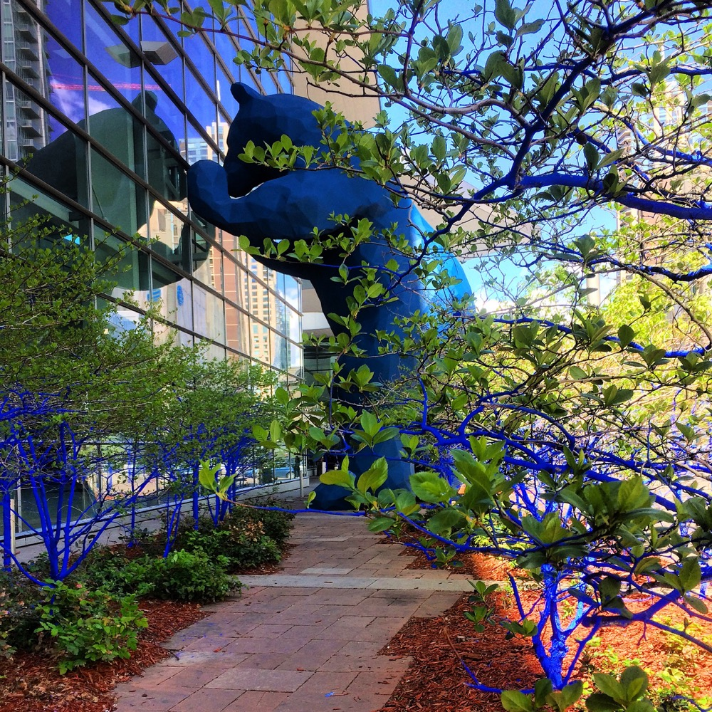 The Blue Trees. (Courtesy of Denver Community Planning and Development)