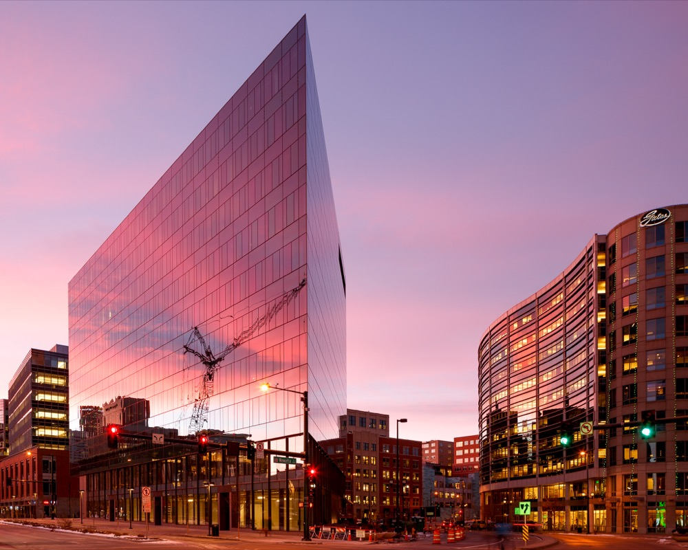 The Triangle Building, 1550 Wewatta St. (Courtesy of Denver Community Planning and Development)