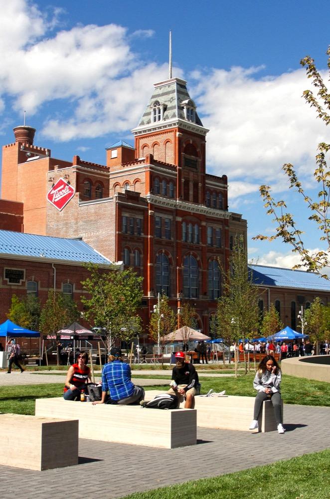 Tivoli Quadrangle, Auraria Higher Education Center. (Courtesy of Denver Community Planning and Development)
