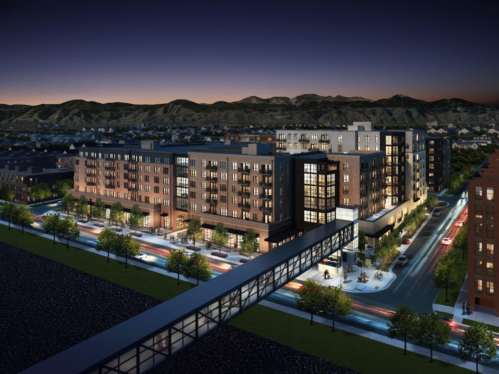 The Zia apartments planned near 4001 Inca St. in Denver. (Courtesy of Confluence Co.)