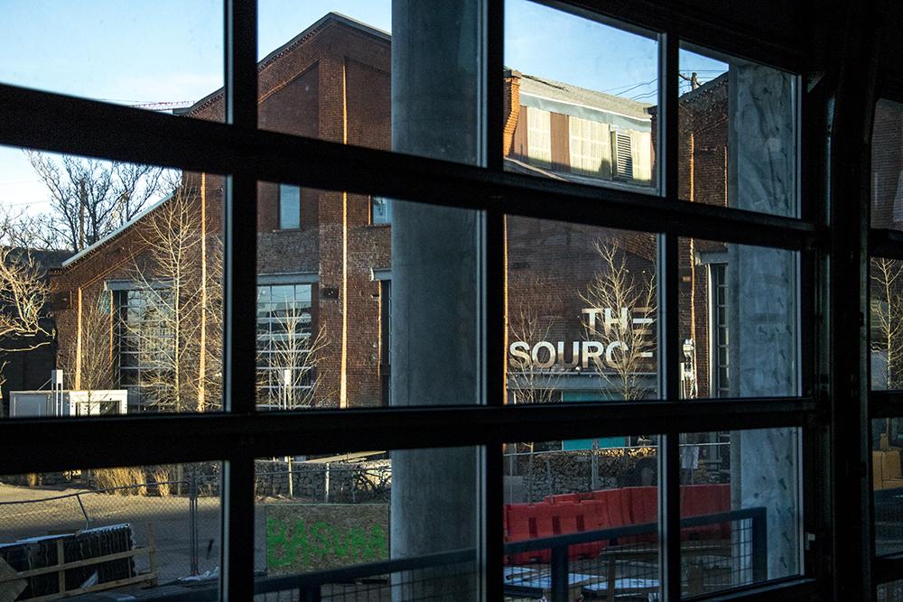 The Source Hotel is under construction, Dec. 12, 2017. (Kevin J. Beaty/Denverite)
