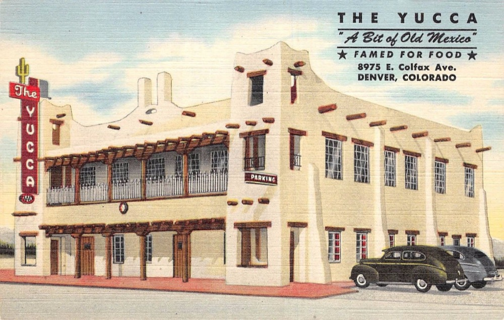 The Yucca, one of Colfax's lost buildings. (Courtesy Colfax Museum)