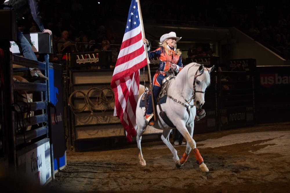 Broncos mascot Thunder.  (Courtesy of National Western Stock Show)