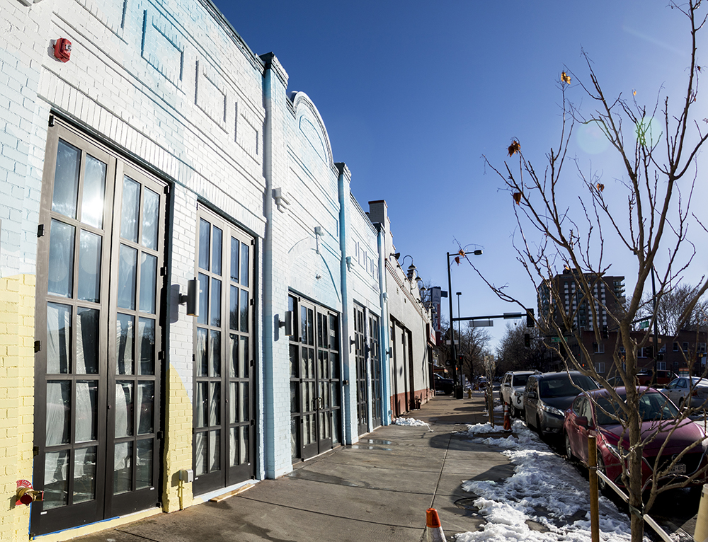 The future site of Bang Up To The Elephant on Pearl Street, Jan. 22, 2018. (Kevin J. Beaty/Denverite)  capitol hill; commercial real estate; denver; colorado; restaurants; kevinjbeaty; denverite;