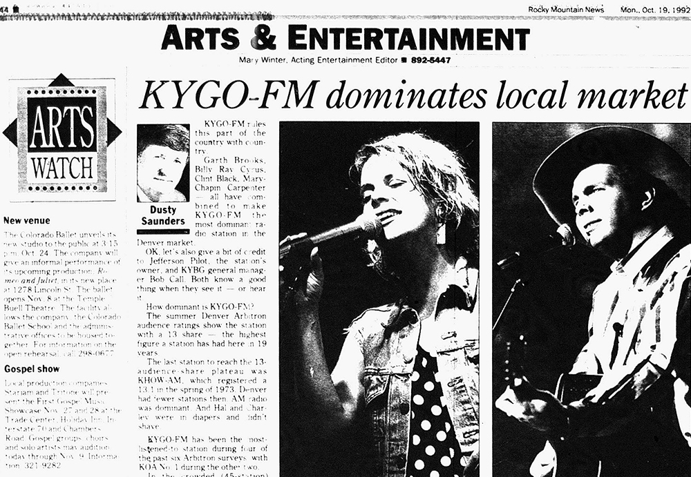 The Rocky Mountain News Oct. 19, 1992. (Denver Public Library/Western History Collection)  country music; country bar; bars; nightlife;