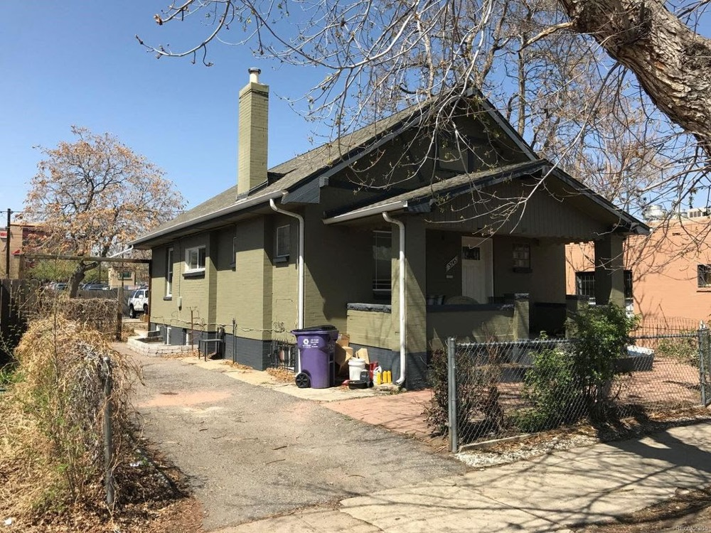 3745 Pecos St. in the Highland neighborhood is available for purchase with cryptocurrency. (Courtesy of Cedar Crest Properties)