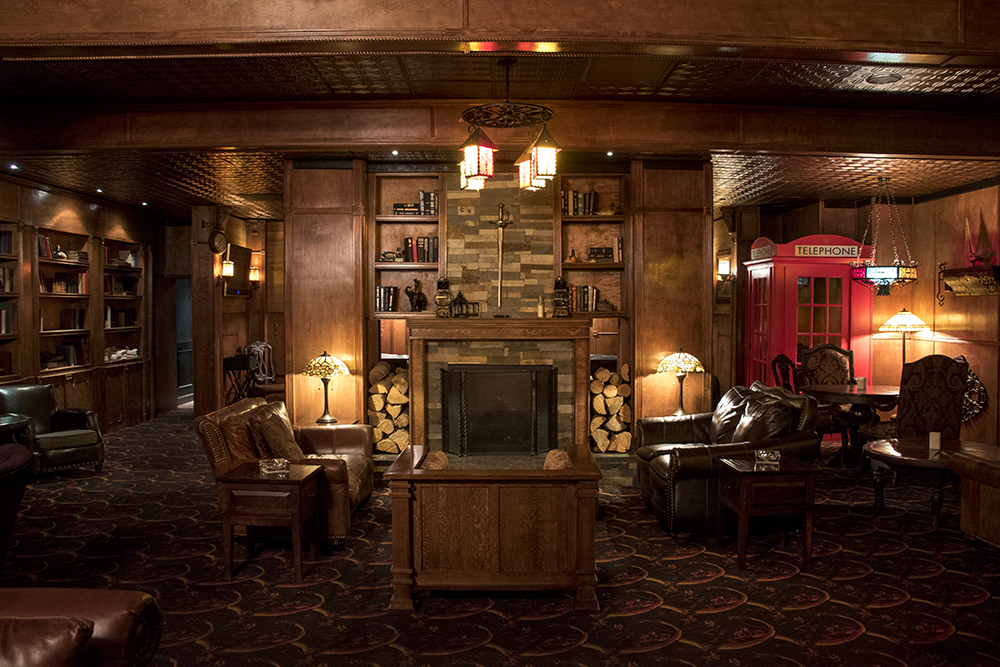 The VIP room inside the Diamond Cabaret, Feb. 15, 2018. (Kevin J. Beaty/Denverite)  strip club; nightlife; denver; colorado; colfax; denverite;