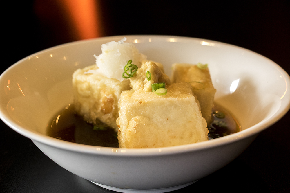Agedashi Tofu at Kazan Ramen on Tennyson Street, Feb. 16, 2018. (Kevin J. Beaty/Denverite)  food; restaurant; tennyson; berkeley; denver; denverite; kevinjbeaty; colorado;