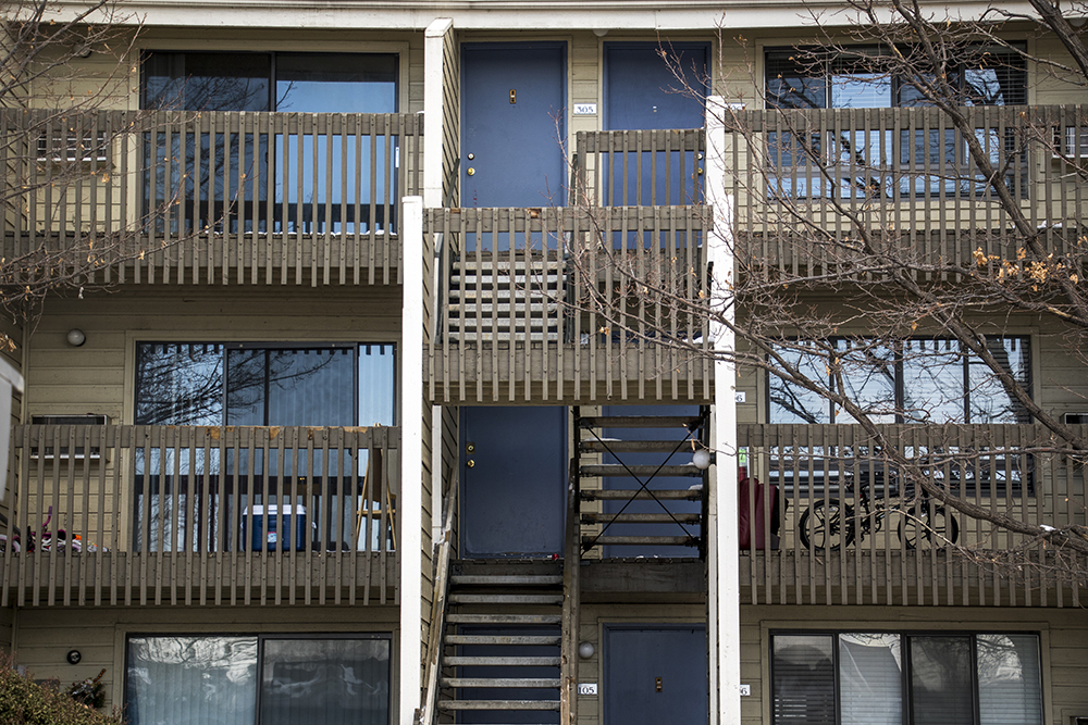 The Courtyards at Buckley, Aurora, Feb. 23, 2018. (Kevin J. Beaty/Denverite)  The Courtyards at Buckley, Aurora, Feb. 23, 2018. (Kevin J. Beaty/Denverite)  denver; denverite; colorado; kevinjbeaty; residential real estate; aurora;