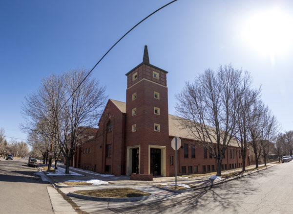 South Presbyterian Church in Platt Park, Feb. 27, 2018. (Kevin J. Beaty/Denverite)  denver; colorado; denverite; kevinjbeaty; platt park;
