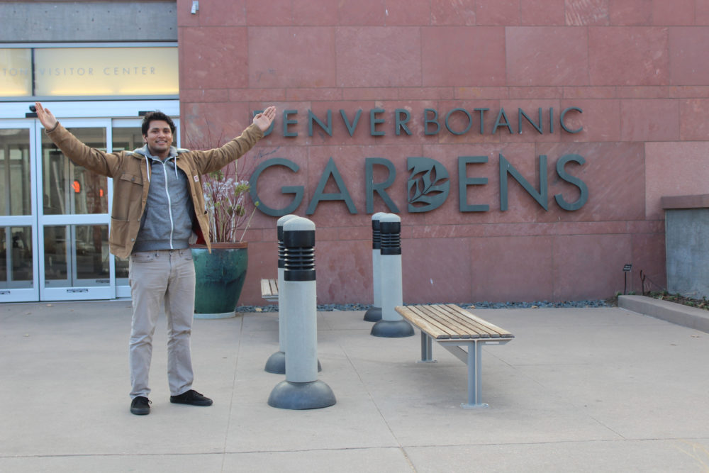 Enver Botanic Gardens. (Courtesy of Enver Siddiky)