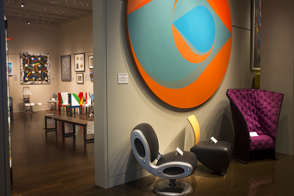 A sneak peek at the Kirkland Museum, March 1, 2018. (Ashley Dean/Denverite)  golden triangle; kirkland museum; art; denver; colorado; denverite;