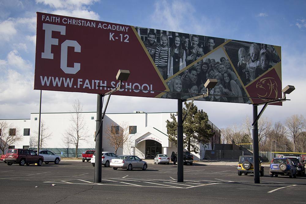 Faith Christian Academy's High School campus in Arvada, March 12, 2018. (Kevin J. Beaty/Denverite)  colorado; denverite; kevinjbeaty; arvada; school; education;