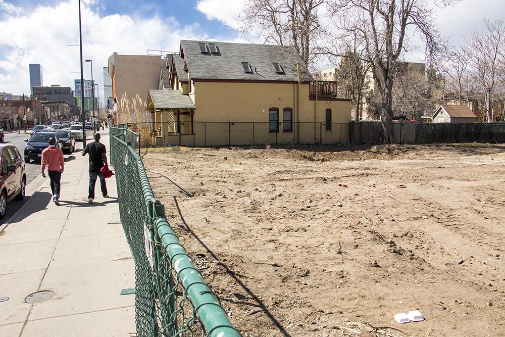 Welton Street, March 15, 2018. (Kevin J. Beaty/Denverite)  denver; denverite; kevinjbeaty; colorado; five points; welton street; development; construction;