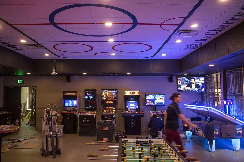 The Cherry Cricket on Blake Street is nearly ready to open, April 16, 2018. (Kevin J. Beaty/Denverite)  food; restaurants; nightlife; bars; denver; denverite; kevinjbeaty; colorado; downtown; ballpark;