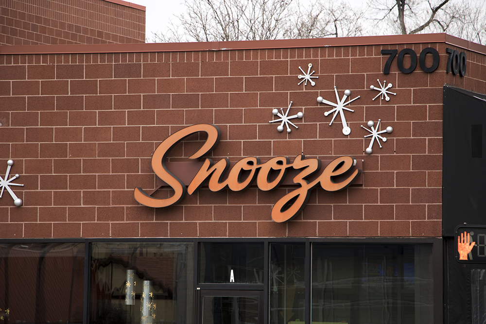 Snooze on Colorado Boulevard, April 2, 2018. (Kevin J. Beaty/Denverite)  denver; colorado; denverite; kevinjbeaty; restaurant; food; hale;